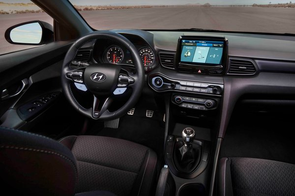2019 Hyundai Veloster N Interior