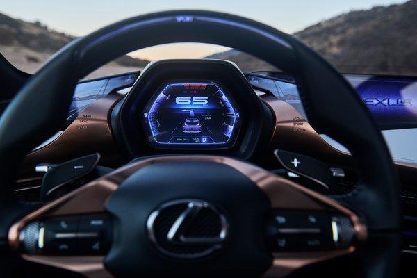2018 Lexus LF-1 Limitless Instrumentation