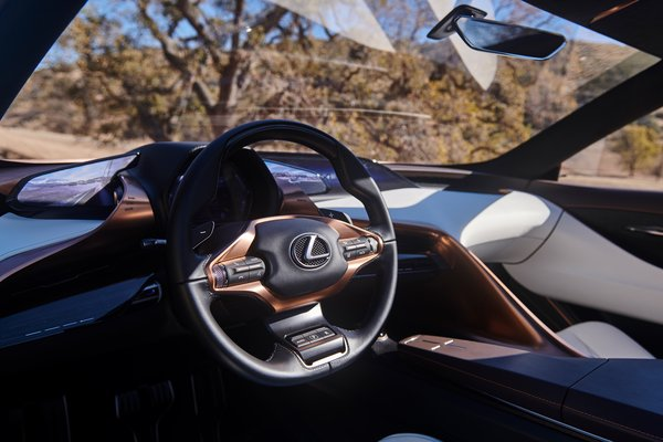 2018 Lexus LF-1 Limitless Interior