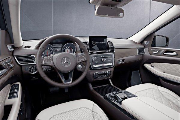 2018 Mercedes-Benz GLS-Class Grand Edition Interior