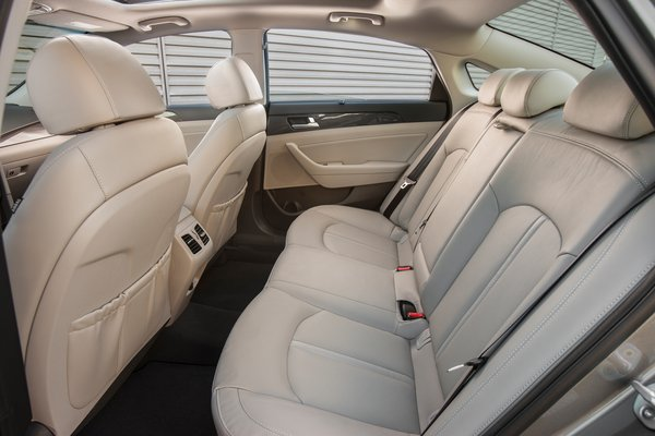 2018 Hyundai Sonata Hybrid Interior