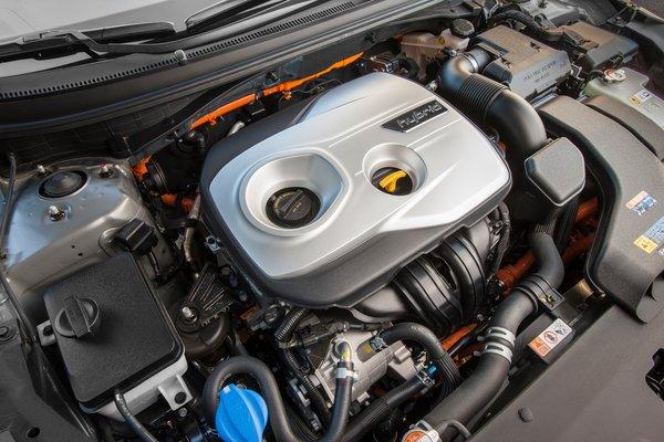 2018 Hyundai Sonata Hybrid Engine