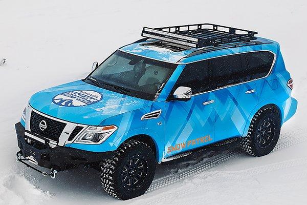 2018 Nissan Armada Snow Patrol