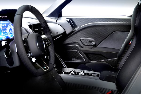 2018 ItalDesign Zerouno Duerta Interior