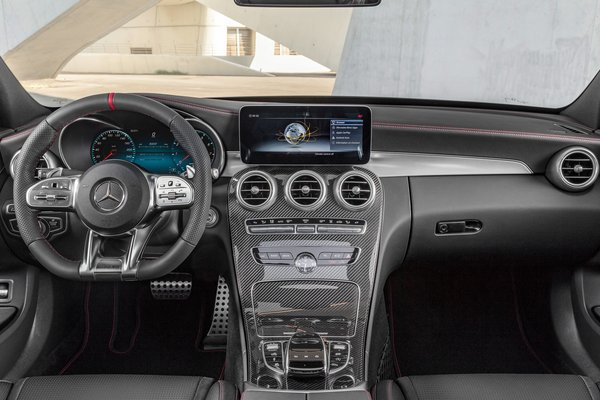 2019 Mercedes-Benz C-Class C43 AMG Sedan Instrumentation