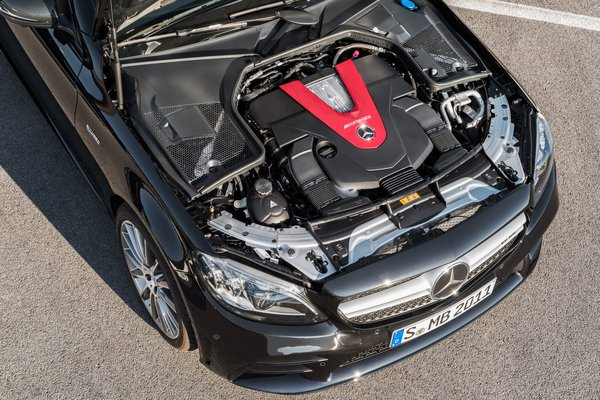 2019 Mercedes-Benz C-Class C43 AMG Sedan Engine