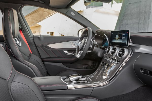 2019 Mercedes-Benz C-Class C43 AMG Sedan Interior