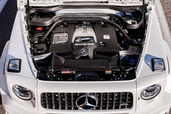 2019 Mercedes-Benz G-Class G63 AMG Engine