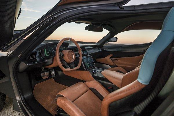 2018 Rimac Automobili C Two Interior