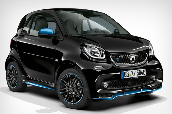 2019 Smart EQ fortwo (European version)