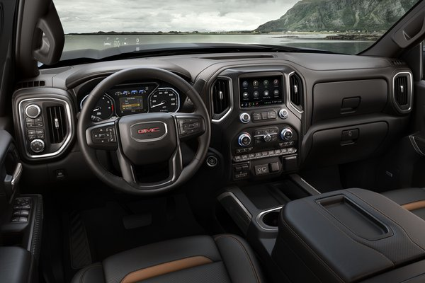 2019 GMC Sierra AT4 Interior