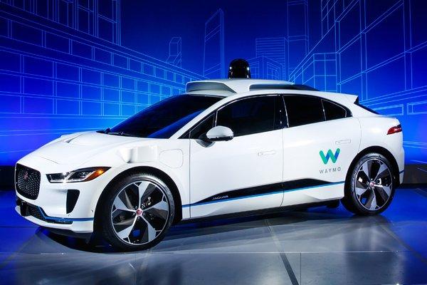 2018 Jaguar Waymo I-Pace