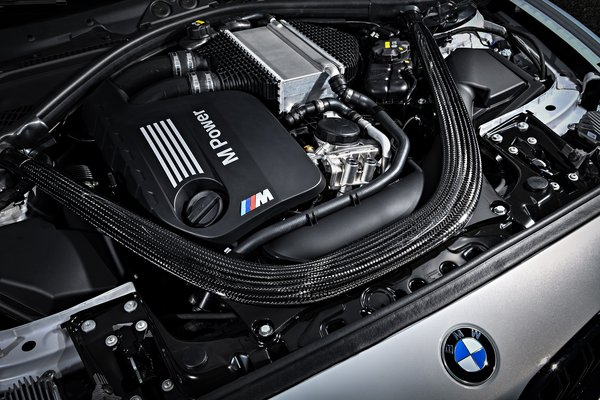 2019 BMW 2-Series M2 Competition Coupe Engine