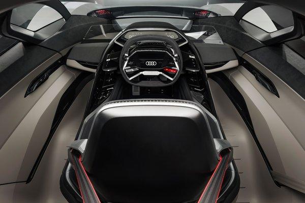 2018 Audi PB 18 e-tron Interior