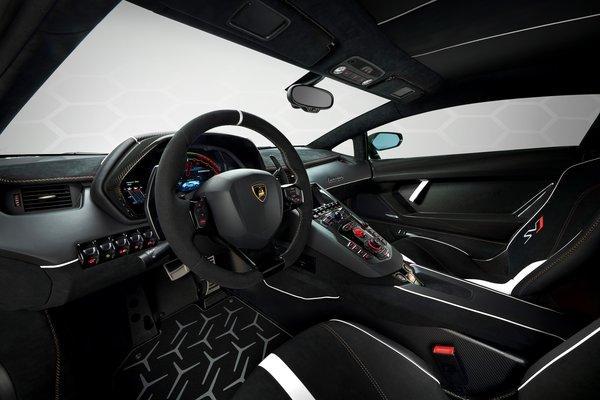 2019 Lamborghini Aventador SVJ 63 special edition Interior