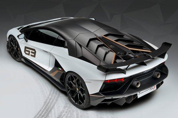 2019 Lamborghini Aventador SVJ 63 special edition