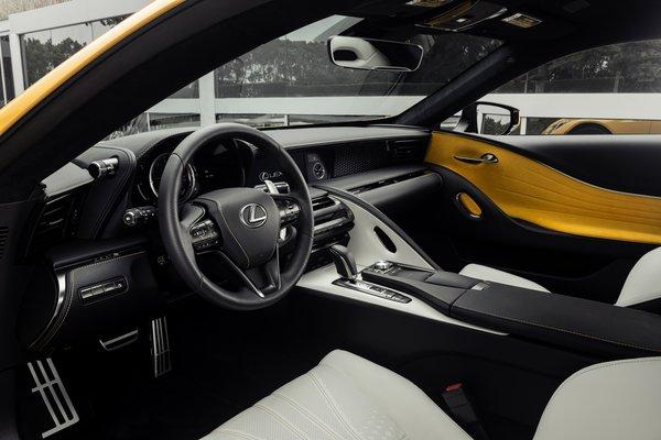 2018 Lexus LC 500 Inspiration Series Interior