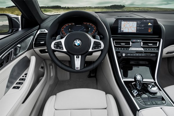 2019 BMW 8-Series convertible M850i xDrive Interior