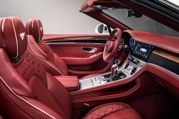 2019 Bentley Continental GT Convertible Interior