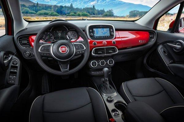 2019 Fiat 500 X Interior