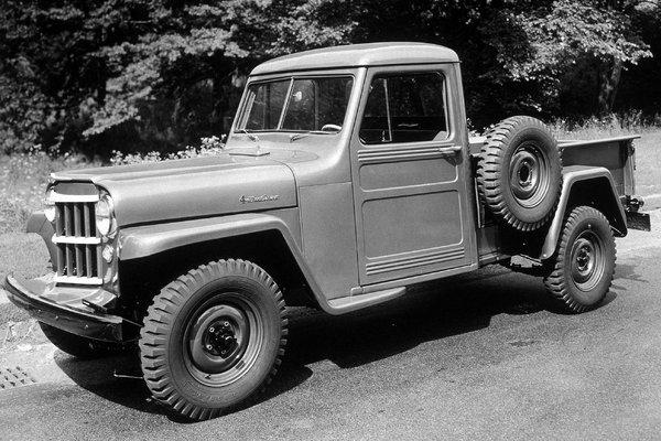 1954 Jeep 4WD 1-Ton Pickup
