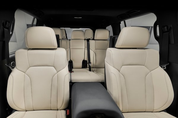 2019 Lexus LX Inspiration Series Interior