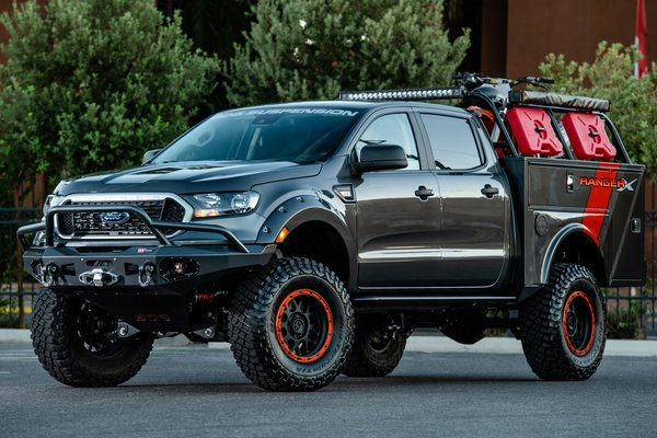 2018 Ford Ranger X by BDS Suspension