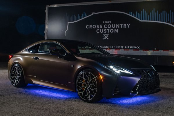 2018 Lexus RC 350 F SPORT Cross Country Custom