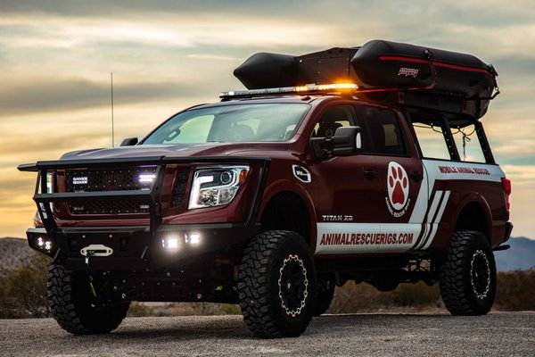 2018 Nissan Paws One Titan