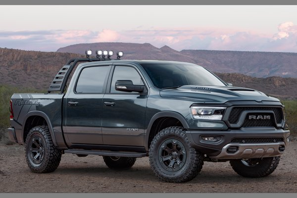 2018 Ram Mopar-modified 1500 Rebel
