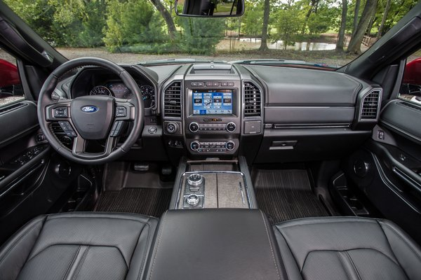 2019 Ford Expedition Texas Edition Interior