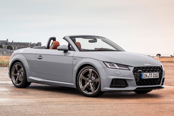 2019 Audi TT Roadster 20th Anniversary edition