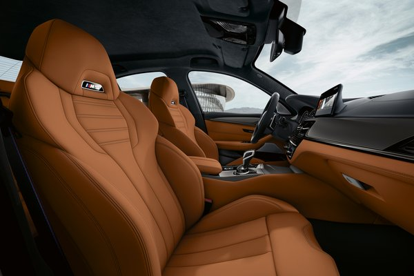 2019 BMW 5-Series M5 Competition sedan Interior