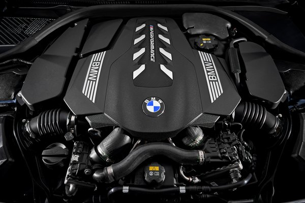 2019 BMW 8-Series M850i xDrive Coupe Engine