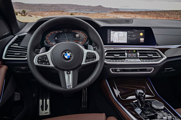 2019 BMW X5 Instrumentation