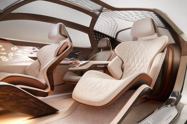 2019 Bentley EXP 100 GT Interior