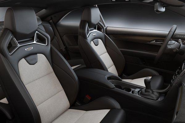 2019 Cadillac ATS-V Coupe Pedestal Edition Interior