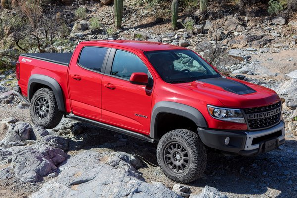 2020 Chevrolet Colorado Crew Cab
