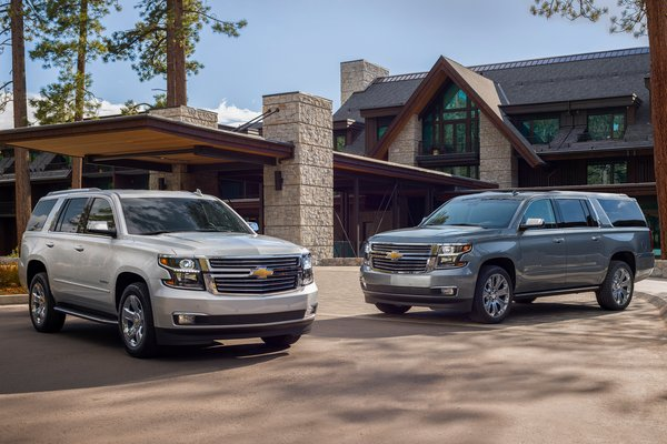 2019 Chevrolet Tahoe and Suburban Premier Plus editions