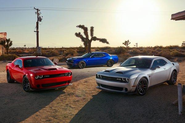 2019 Dodge Challenger lineup