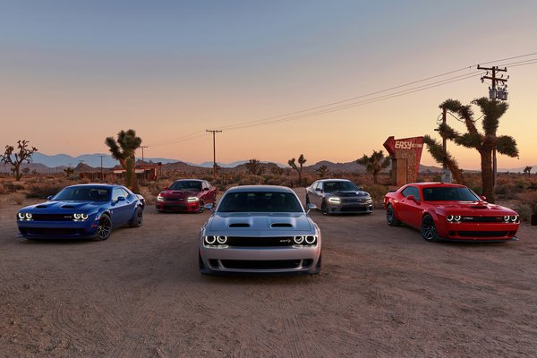 2019 Dodge Charger lineup