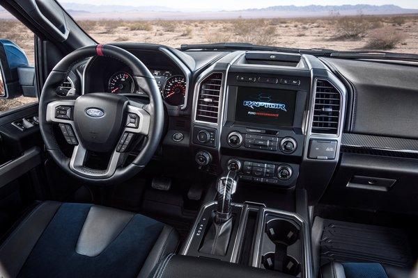 2019 Ford F-150 Raptor Crew Cab Interior
