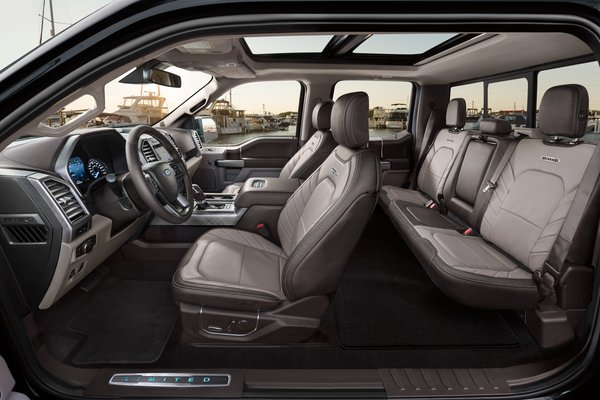2019 Ford F-150 Limited Interior