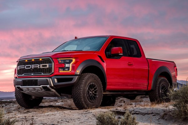 2019 Ford F-150 Raptor Extended Cab