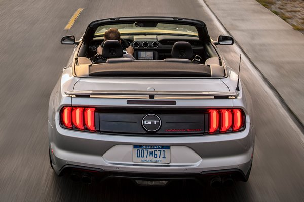 2019 Ford Mustang California Special convertible