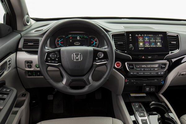 2019 Honda Pilot Elite Instrumentation