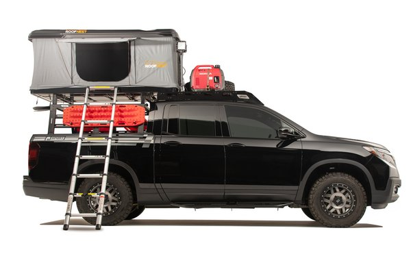 2019 Honda Ridgeline Adventure Lifestyle Project