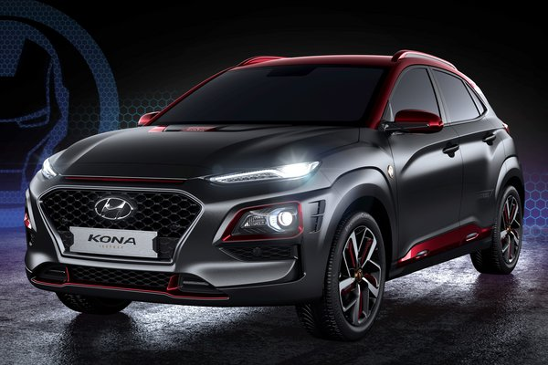 2019 Hyundai Kona Iron Man limited edition