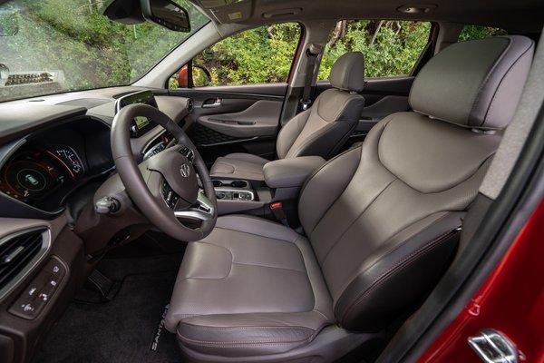 2019 Hyundai Santa Fe Interior