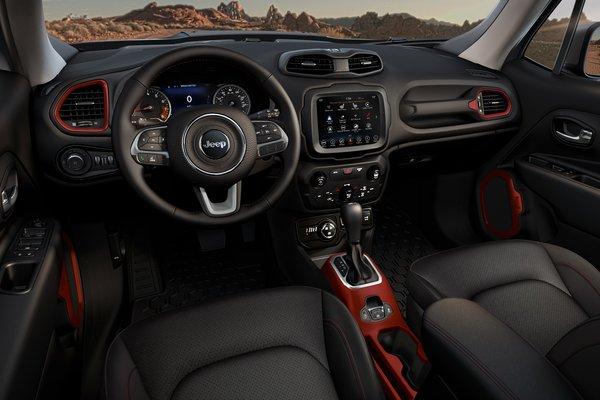 2019 Jeep Renegade Trailhawk Interior